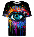 T-shirt ze wzorem Black Fullprint