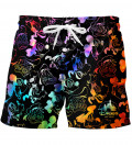 Black Walt Dealer swim shorts