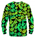 Melted smileyes sweater