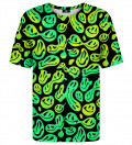 Melted smileyes t-shirt