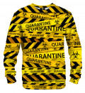 Bluza ze wzorem Quarantine