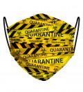 Maseczka ze wzorem Quarantine