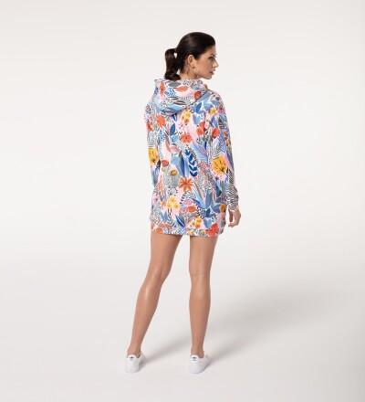 Sukienka z Motywem Kwiatowym - Floral pattern