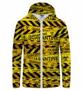 Quarantine Zip Up Hoodie