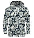 Skull flower hoodie