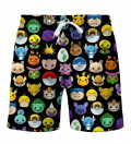 Pokemoji Shorts