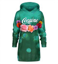 Cocaine Hoodie Oversize Dress