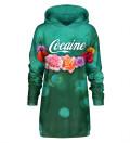 Sukienka oversize z kapturem Cocaine