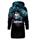 We are anonymous Hoodie Oversize Dress