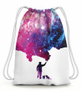 Galaxy Picture Drawstring Bag