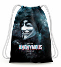 We are anonymous Drawstring Bag