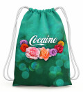 Cocaine Drawstring Bag