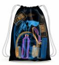 X-ray travel Drawstring Bag