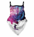 Galaxy Picture Bandana face mask