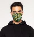 Melted Smileys Face Mask