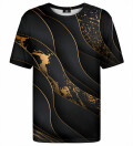 Black and gold t-shirt
