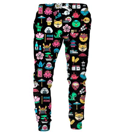 Spodnie męskie- Japanese Pattern