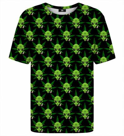 T-shirt- Green Alien