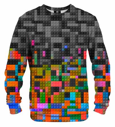 Bluza ze wzorem Colorful Blocks