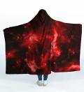 Hot Space Hooded Blanket