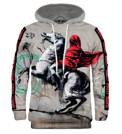 Bluza z kapturem - Banksy's Napoleon