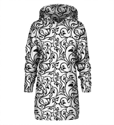 Dress Black and White Ghost