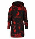 Scream Works Hoodie Oversize Dress
