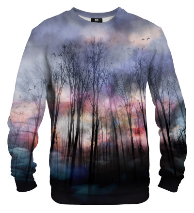 Gloomy forest sweater