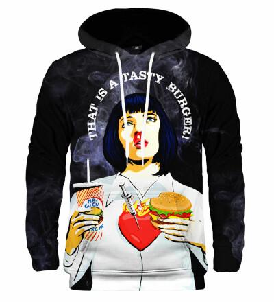 Bluza z kapturem Mia's burger