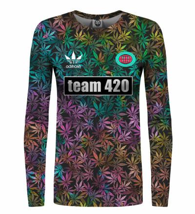 Bluza damska ze wzorem Team 420