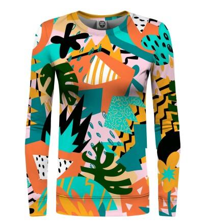 Bluza damska - Tropical abstract