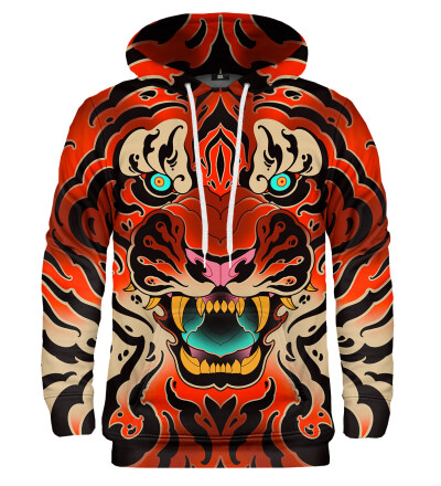 Bluza z kapturem Fullprint Tiger