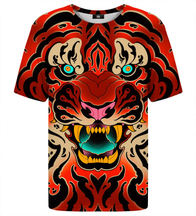 T-shirt - Fullprint Tiger