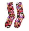Zombie ice cream Midi Socks