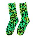 Melted Smileys Midi Socks
