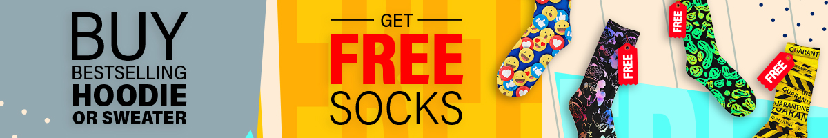 mini banner free socks