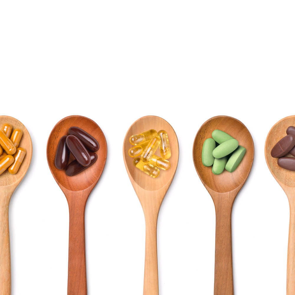 What supplements support the body's immunity?