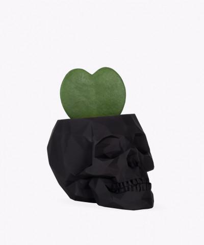 Hoja Kerri w czarnej betonowej czaszce