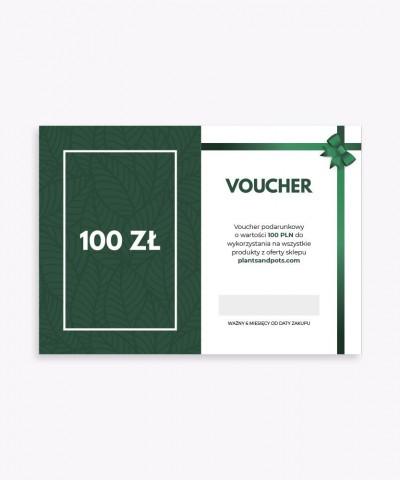 Karta podarunkowa voucher o wartości 100 zł