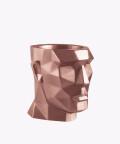 Doniczka Apollo, rose gold osłonka betonowa ⌀ 14 cm