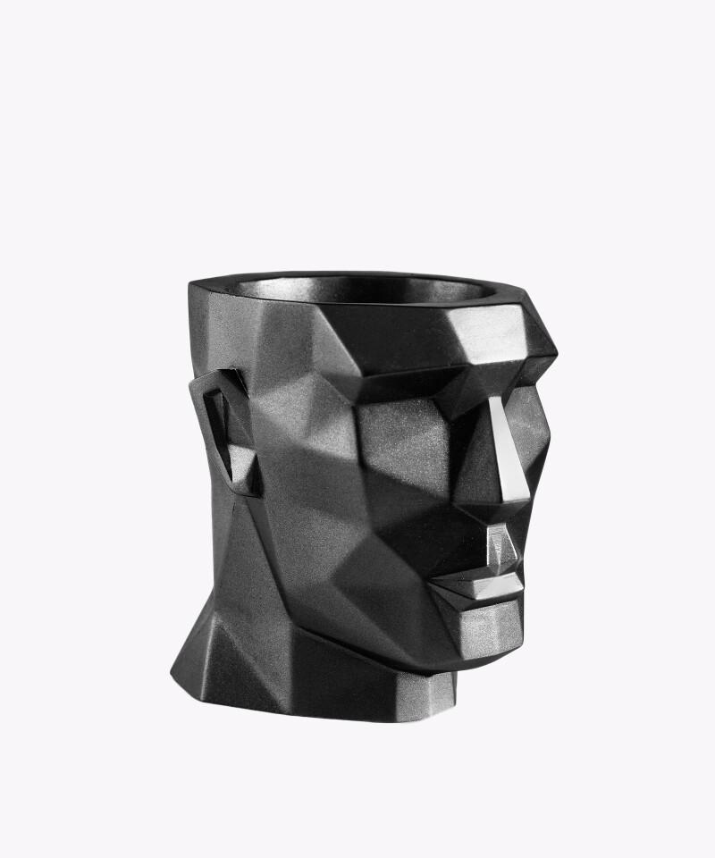 Doniczka Apollo stalowa osłonka betonowa ⌀ 14 cm