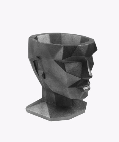Doniczka Afrodyta stalowa osłonka betonowa ⌀ 13,5 cm