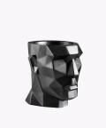 Doniczka Apollo, stalowa osłonka betonowa ⌀ 12 cm