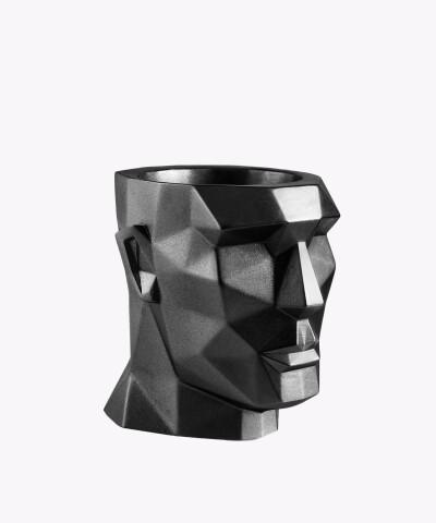 Doniczka Apollo stalowa osłonka betonowa ⌀ 12 cm