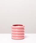 Doniczka ceramiczna, w kolorze różowym ⌀ 10 cm
