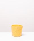 Doniczka Betonowa Hex, w kolorze żółtym  ⌀ 12 cm