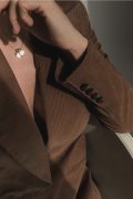 CARLA CAMEL, Brown jacket