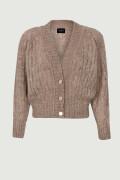 LORA BEIGE, beige sweater