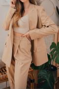 SAN DIEGO, Beżowe spodnie