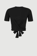 FORSETI BLACK, czarny T-shirt